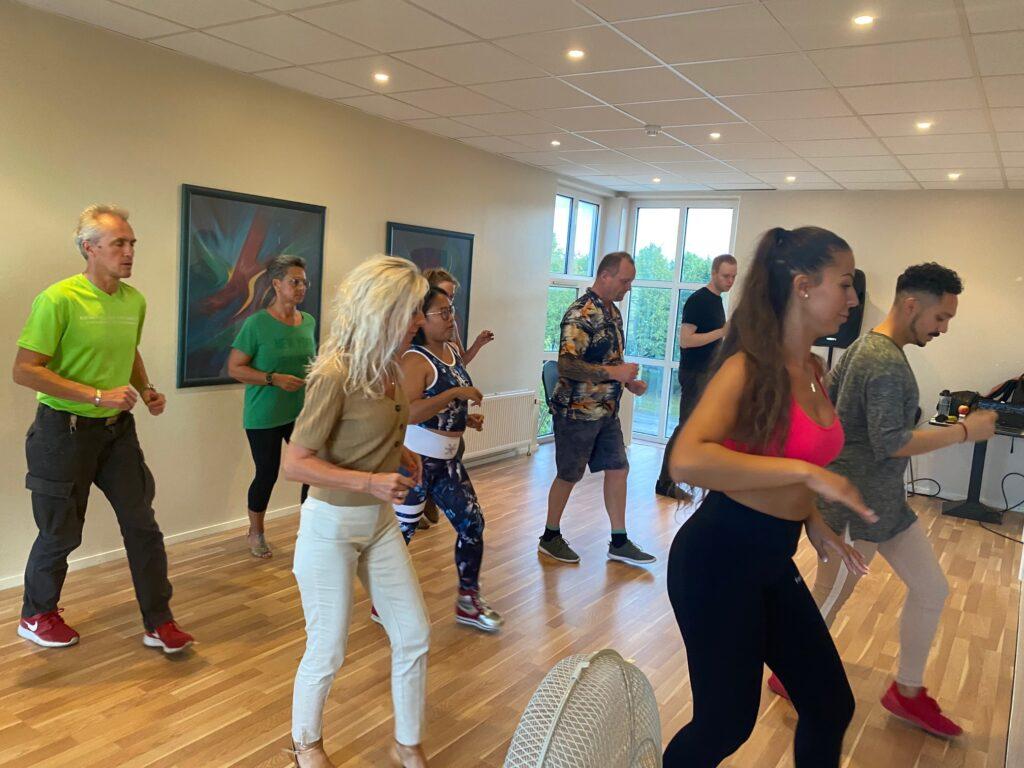 Danseundervisning med Maykel og Nicole