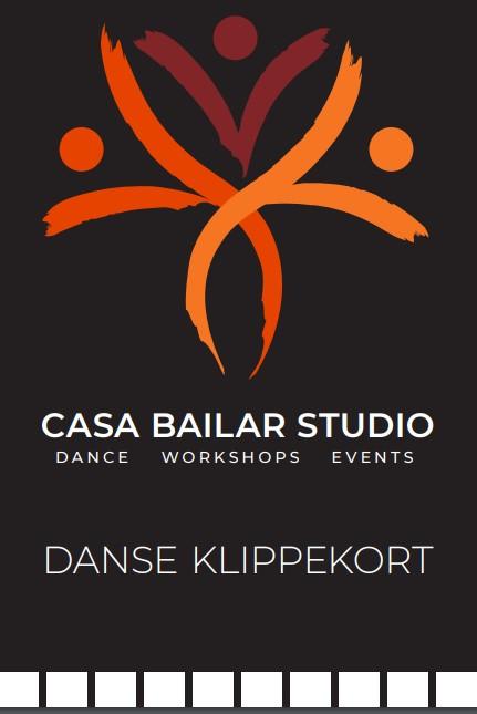 Casa Bailar Danseklippekort